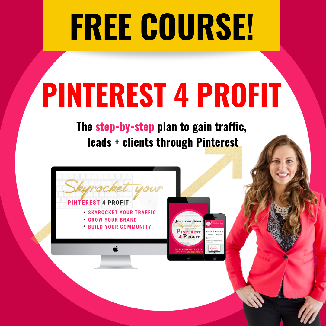 Free Pinterest Course!